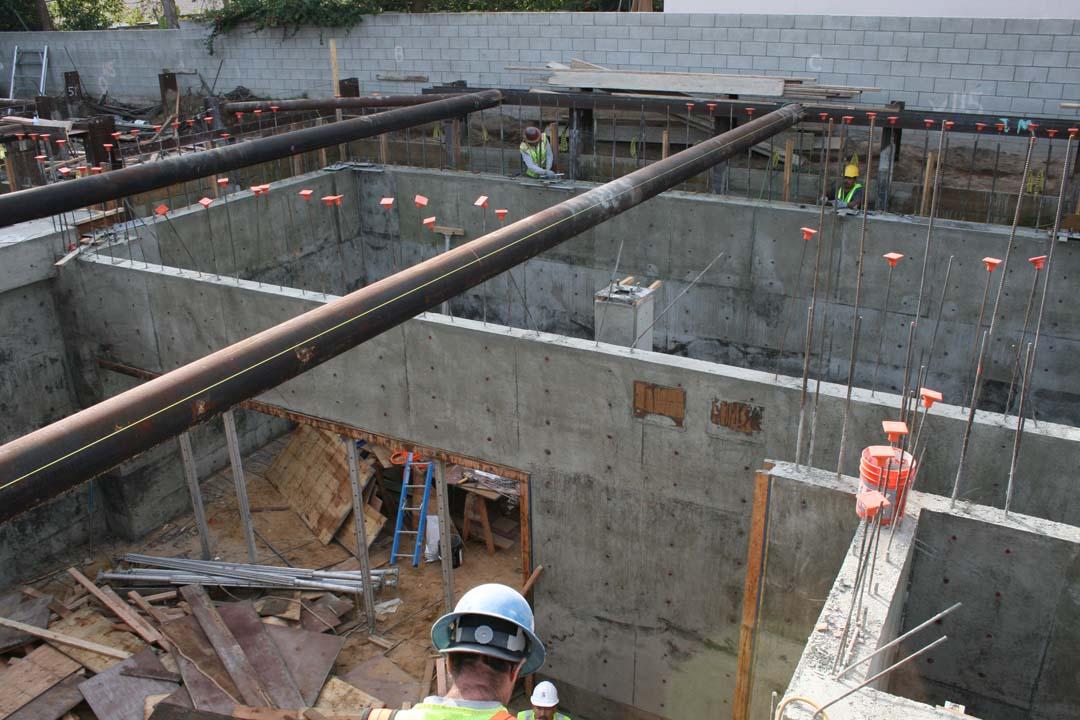 Concrete Foundation Work : Basement structural foundation work manhattan beach