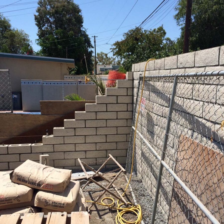 long beach freestanding wall pacificland constructors