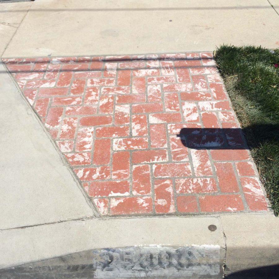 Stonework Granite Block : Lomita concrete driveway pacificland constructors