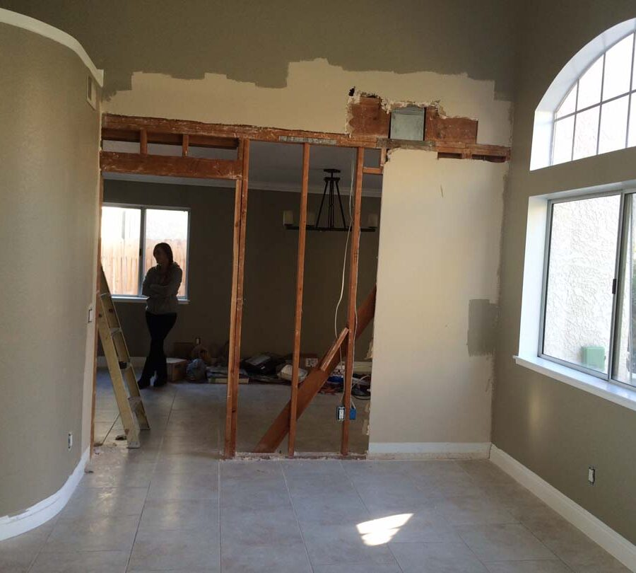 Cerritos Load Bearing Wall Removal