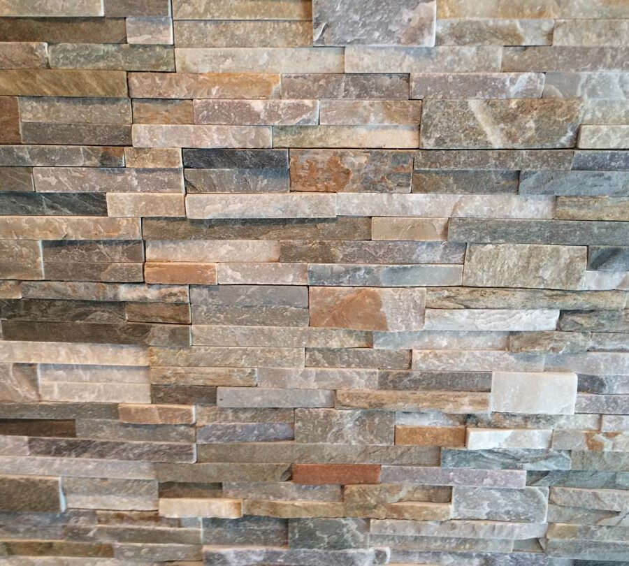 Stone veneer creates a great natural and relaxing theme for fireplaces. Pacificland Constructors