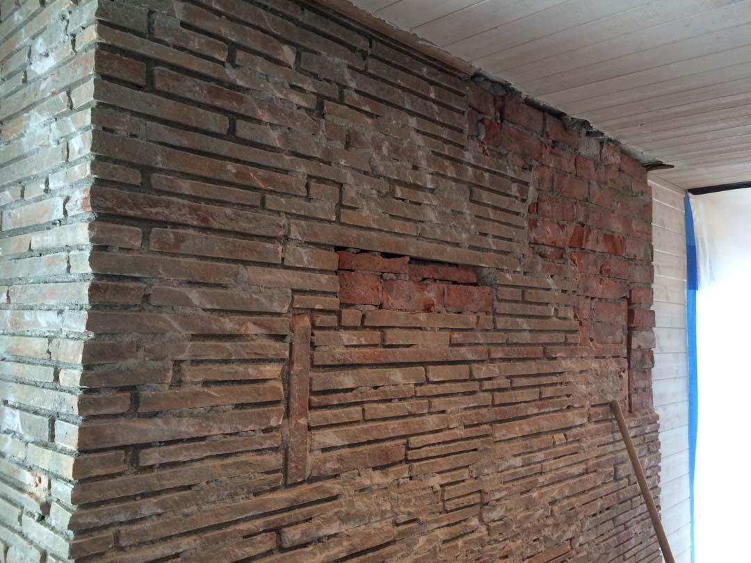 Stonework Granite Block : Stone fireplace playa del rey contractor masonry
