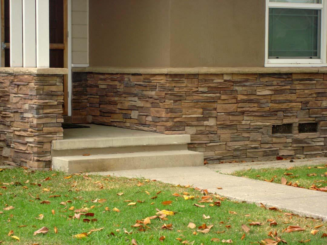 Stonework Granite Block : Stone veneer contractor masonry concrete block