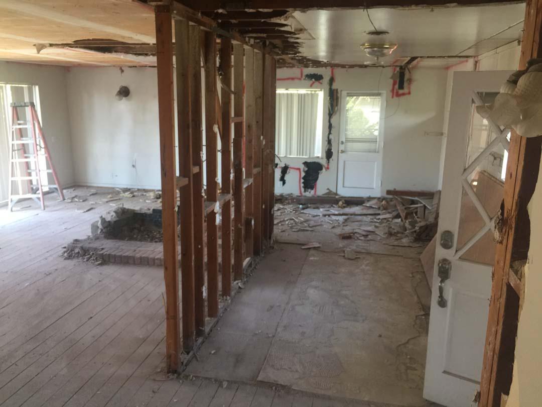 Load Bearing Chimney : Anaheim load bearing wall removal contractor masonry