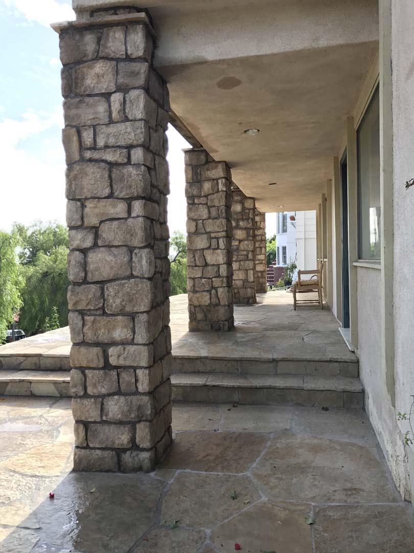 Patio Stone Work San Pedro Pacificland Constructors